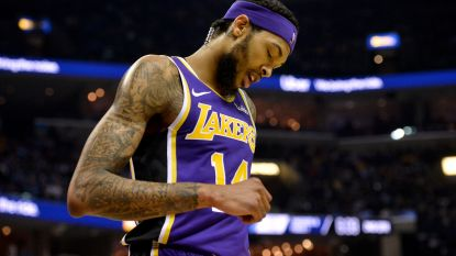 Seizoen afgelopen voor Lakers-forward Brandon Ingram