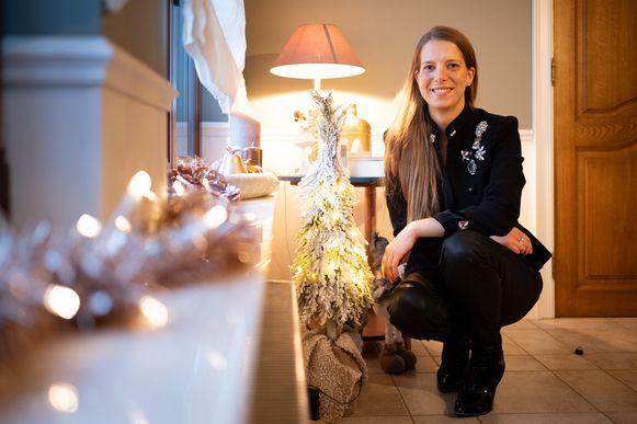 Ines Herbosch kon niet één maar vijf kerstbomen schenken aan mensen in moeilijkheden