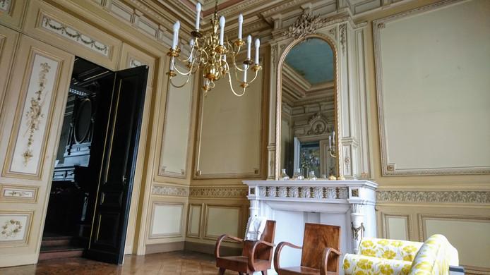 De voormalig kantoren van rechters die nu als aparte ruimtes verhuurd zullen worden in BorgerHub.