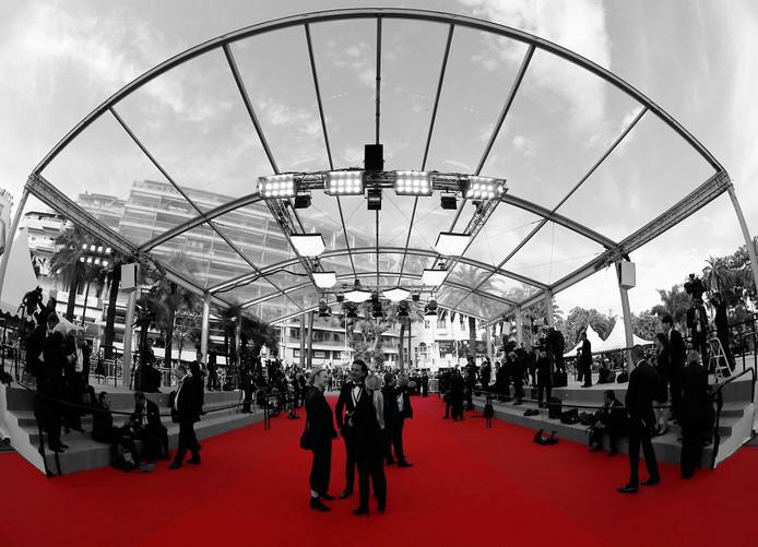 De première van Irrational Man tijdens het Filmfestival van Cannes 2015.