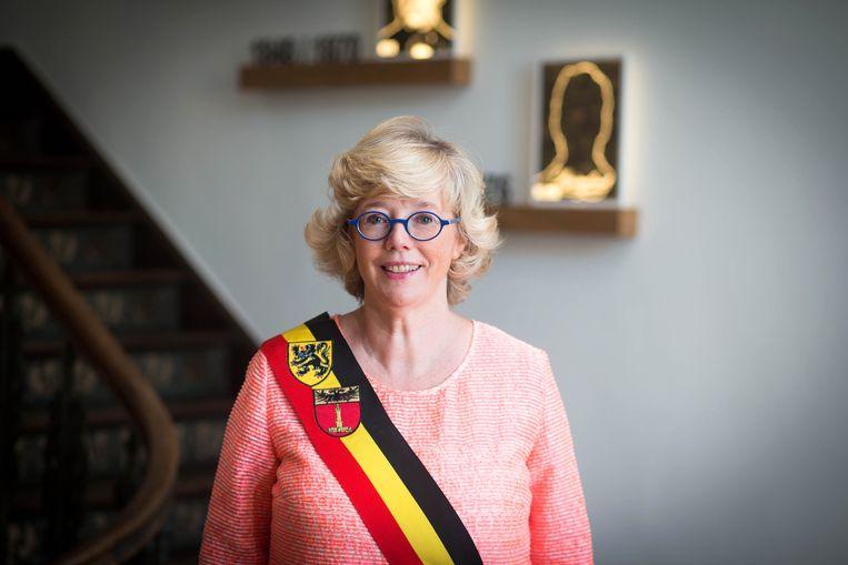 Burgemeester Veerle Heeren.