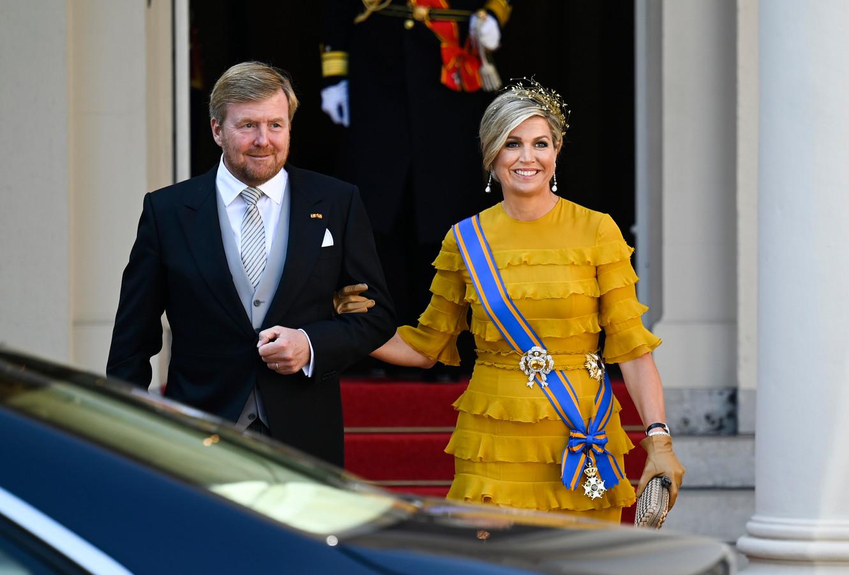 Claes Iversen vindt het erg leuk dat koningin Máxima tijdens Prinsjesdag wederom voor een ontwerp van zijn hand heeft gekozen.