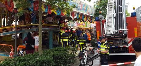 Jongetje (3) belandt onder attractie in Tilburg