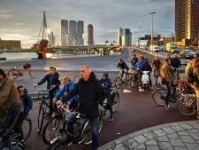 Sporten niet nodig voor forens die fiets pakt