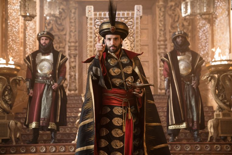 Marwan Kenzari als booswicht Jafar. Beeld Daniel Smith