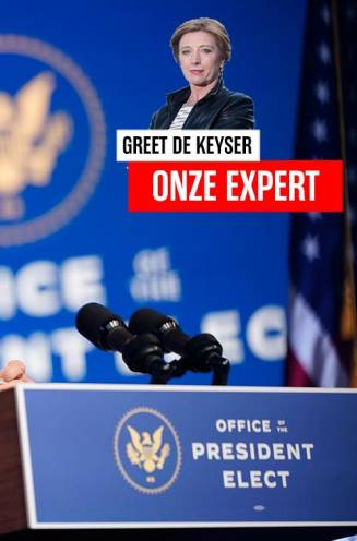 """Greet De Keyser in de VS. """"Bidens presidentschap zal altijd belast blijven met de twijfel bij tientallen miljoenen Amerikanen"""""""