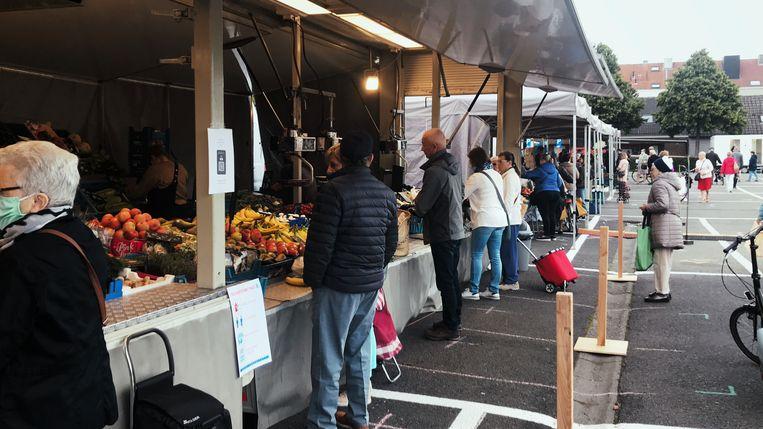 Zaterdagmarkt in Aalst