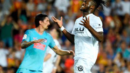 Geen heldenrol voor Batshuayi bij Valencia-debuut