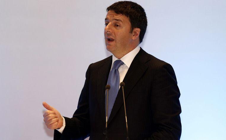 Premier Matteo Renzi van Italië. Beeld epa