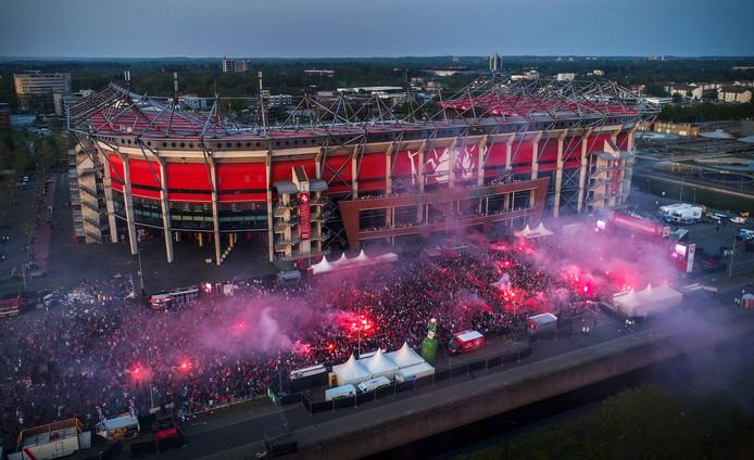 FC Twente leeft nog altijd enorm in de regio en is op vele gebieden nog altijd de vierde club van Nederland.