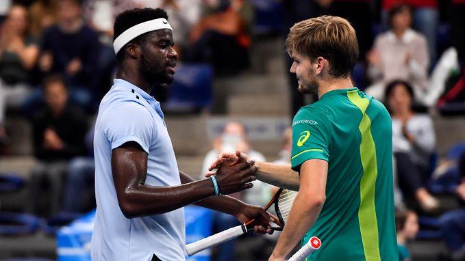 """David Goffin bereikt na lastige eerste set kwartfinales European Open: """"In alle opzichten tevreden"""""""