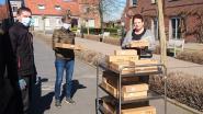 Sportclub Recrean Skippers Oudenaarde trakteert personeel van AZ Oudenaarde en rusthuizen op paaseitjes