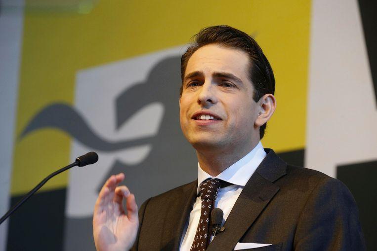 VB-voorzitter Tom Van Grieken.