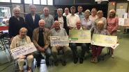 Bloedgeversorganisatie Vriendenkring Louis Steens schenkt 3.000 euro aan goede doelen en stelt nieuw bestuur voor
