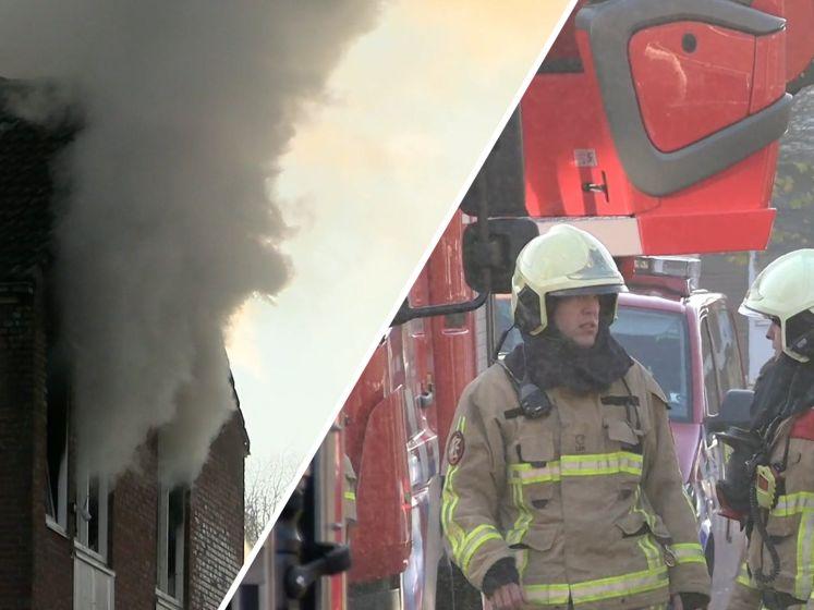 Veel rook bij brand Enschede: appartement flink beschadigd