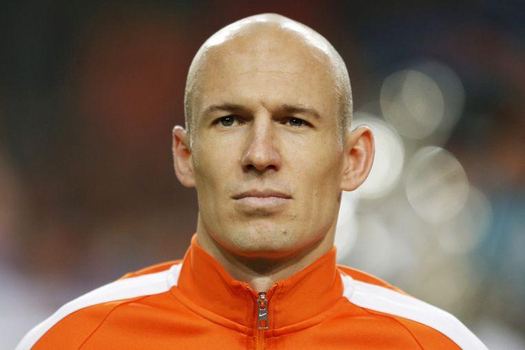 Arjen Robben Beeld null
