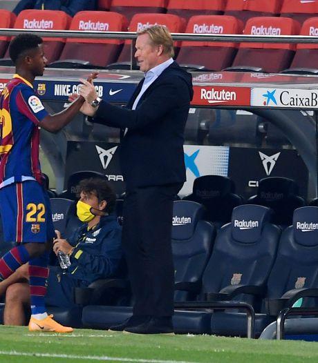 Koeman na geslaagde ouverture met Barça: 'Eerste helft was geweldig'