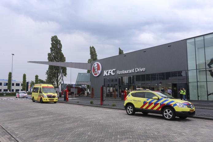 Lek in leiding KFC Den Bosch