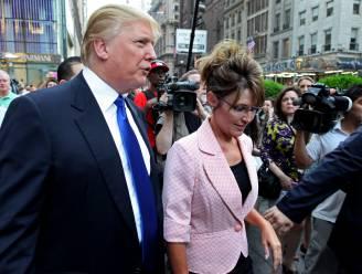Als Donald Trump in het Witte Huis zit, neemt hij Sarah Palin mee