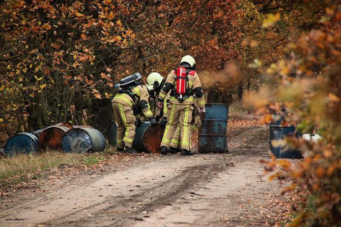 Brandweer in actie in Beuningen