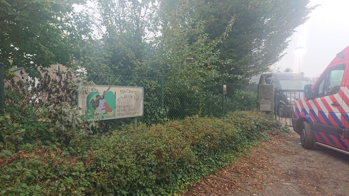 De wasserij is gevestigd op het perceel waar voorheen mini-camping de Heische Wal was gevestigd .