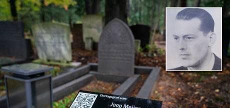 Joop Meijer eindigde als 33-jarige voor het vuurpeloton en dat kan iedereen nu lezen bij zijn graf