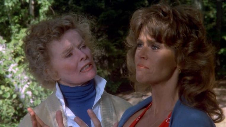 Jane Fonda in On golden pond (1981). Beeld