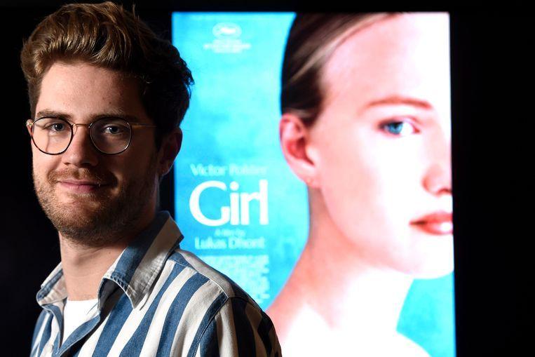 Lukas Dhont voor poster van 'Girl'