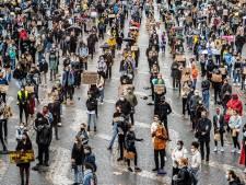 Organisatoren demonstratie Enschede roepen op: 'Blijf thuis als je niet aangemeld bent!'