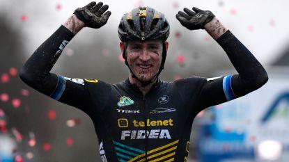 Toon Aerts baggert de rest weg in Overijse en pakt zo zijn vierde zege van het seizoen