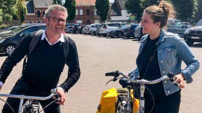Tess (22) dag lang 'Kampenhouts burgemeester'
