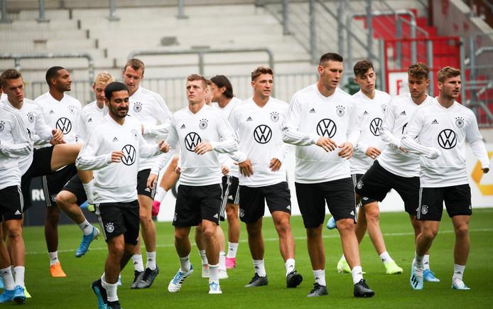 Het Duitse nationale team.