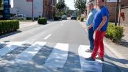 Eerste 3D-zebrapad in gebruik genomen
