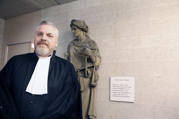 """Strafpleiter Peter Schouten uit Breda: ,,Het is niet gratis of pijnloos om in een rechtsstaat te wonen."""""""