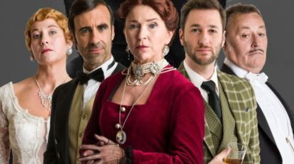 Watch out 'Downton Abbey': hier komt Andrea Croonenbergs