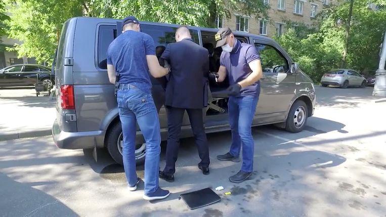 Arrestatie Ivan Safronov