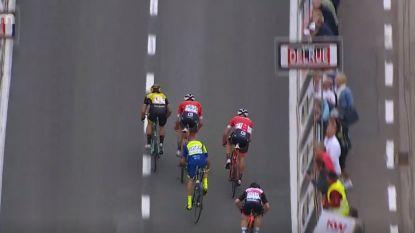 KOERS KORT 14/09. Groenewegen primus in kampioenschap van Vlaanderen, zieke Greipel gaf er de brui aan - De Plus moet opgeven in Vuelta