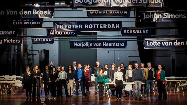De makers van Theater Rotterdam, Beeld Rene Castelijn