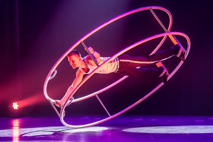 sportgala in de nieuwe nobelaer met optreden van boy looijen in zijn rohnrad. foto : ron magielse