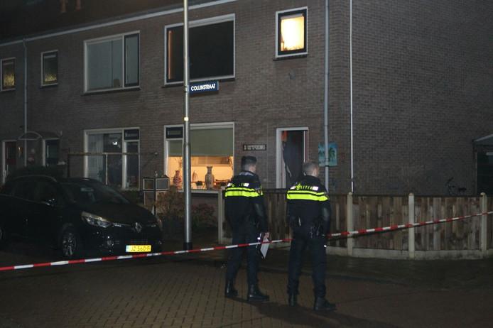 De Colijnstraat in Culemborg, waar het slachtoffer na het schietincident aanbelde.