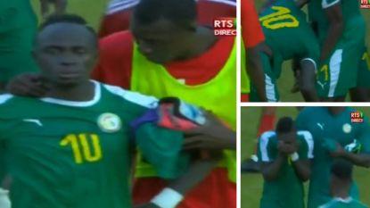 Trieste beelden van Senegalese ster Mané: aanvaller van Liverpool in zak en as nadat zijn land nochtans met 0-1 won