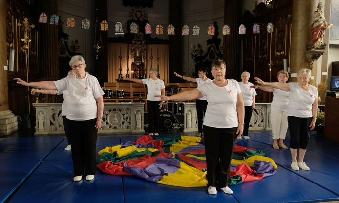Zondag vonden al heel wat activiteiten plaats in de Sint-Margarethakerk.