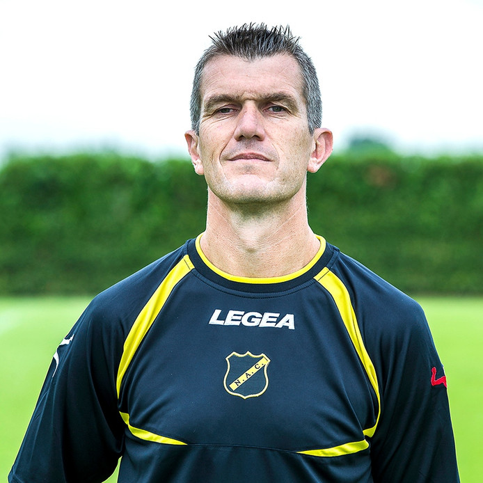 ZUNDERT - NAC Breda. 08-07-2016, Autototaalglas trainingscentrum, voetbal, Jupiler League seizoen 2016-2017. Hoofdtrainer Marinus Dijkhuizen.
