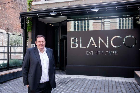 'BLANCO' op het Heilig Hartplein te Sint-Truiden.