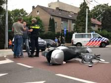 Bestuurder scooter gewond bij aanrijding in Velp