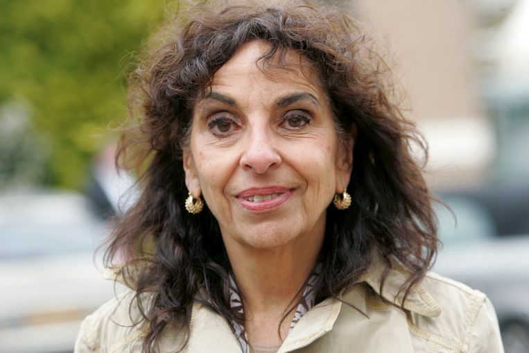 Actrice Shireen Strooker in 2010. Beeld ANP Kippa