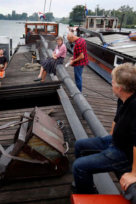 Onderduikschepen voor even terug in de Biesbosch: 'Een Duitser waarschuwde mijn ouders'