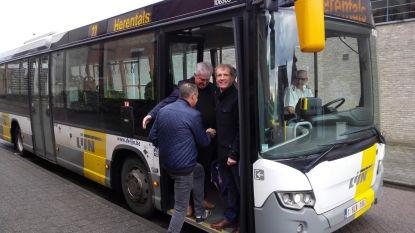 Eerste keer bus 220 van Morkhoven naar Herentals