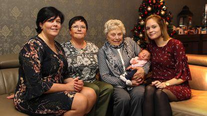 Ilona zorgt voor een vijfgeslacht