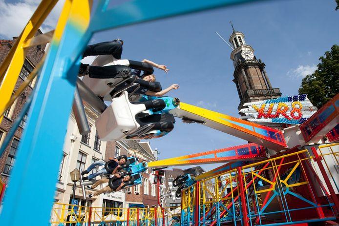 Ook dit jaar zal de kermis weer op de Zaadmarkt, Houtmarkt en Groenmarkt in Zutphen zijn, net als voorgaande jaren.